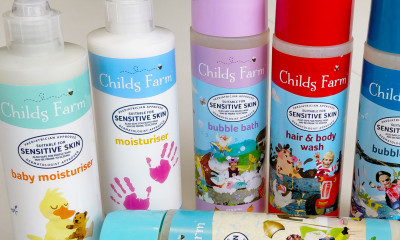 Free Kids Shampoo, Bubble Bath & Moisturiser from 'Childs Farm' worth £12