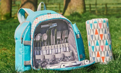Free Personalised Picnic Backpack
