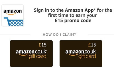Free £15 Amazon Voucher - ENDS SOON!