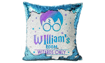 Free Personalised Harry Potter Cushion