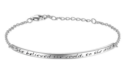 Free 'She Believed' Bracelet