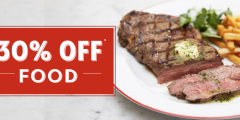 30% off Food