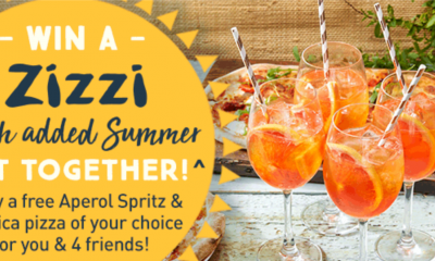 Win a Meal at Zizzi for Five