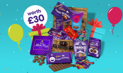 Win a Cadbury Birthday Basket worth £30