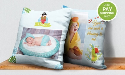 Free Custom Photo Pillow