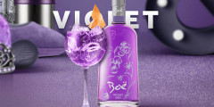 Free Bottle of Violet Gin
