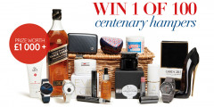 Free Johnnie Walker Hamper