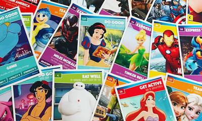 Disney Heroes Cards