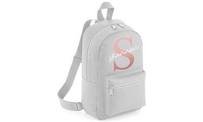 Free Personalised Backpack