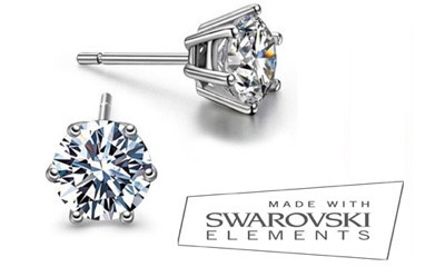 Free Swarovski Crystal Earrings worth £40