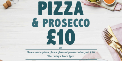 Pizza & Prosecco for £10