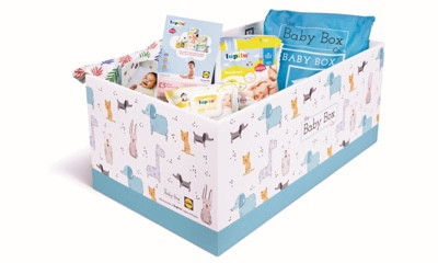 Free Baby Boxes, Muslins & More