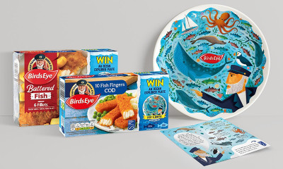 Free Ceramic Plate from BirdsEye