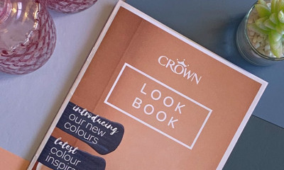 Free Crown Paint Look Book - straight to your door