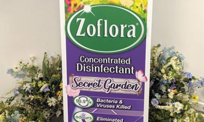 Free Zoflora Secret Garden Disinfectant