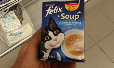 Free Felix 'Soup' Cat Food