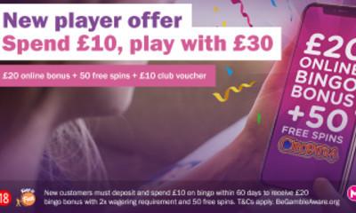 Free £20 Bingo at Mecca Bingo