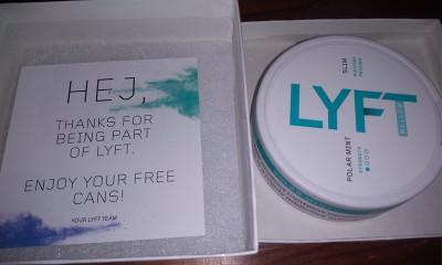 Free LYFT Nicotine Pouches
