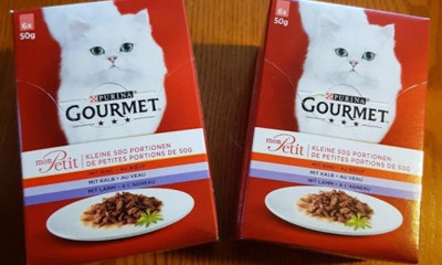 Free Gourmet Cat Food