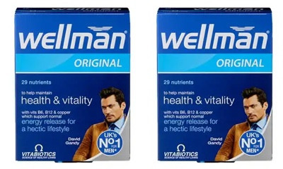 Free Packs of Wellman Multivitamins