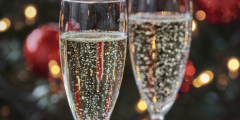 Christmas: Free Bubbly for Early Birds
