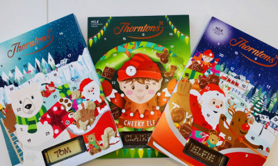 2 Free Thorntons Chocolate Advent Calendars