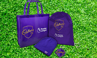 Free Cadbury Premier League Goodies