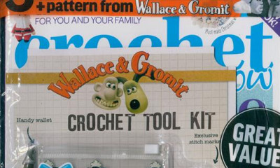 Free Wallace & Gromit Crochet Kit