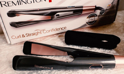Free Remington Curl & Straight Hair Styler - Worth £59.99
