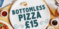 Bottomless Pizza for £15