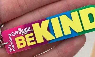 Free BeKind Keyring