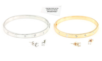 Free Starlight Bangle & Earring Set