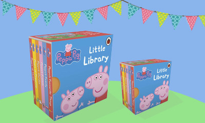 Free 6 Book Peppa Pig Collection