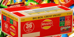 Free Walkers Crisps (36-Pack)