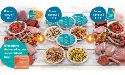 Three Free Food Hampers (worth £51.91)