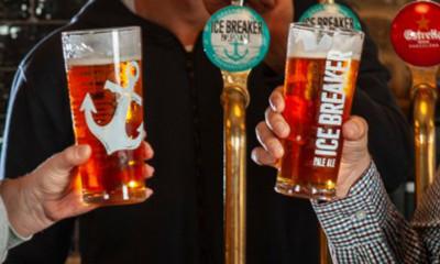 Free Pint of Ice Breaker Pale Ale