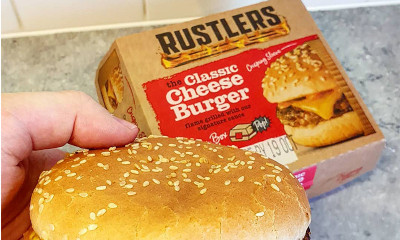 Free Rustlers Cheese Burger - CURRENTLY OUT OF STOCK