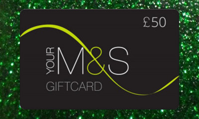 Free £50 M&S Voucher - 1,000 Available