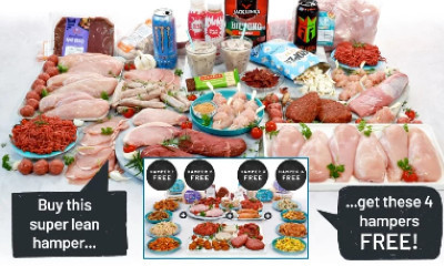 Four Free Black Friday Meat Hampers (worth £60+)