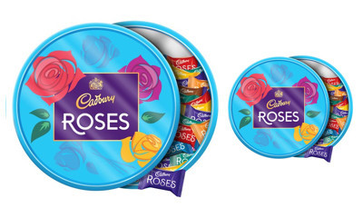 2 Free Tins of Cadbury Roses