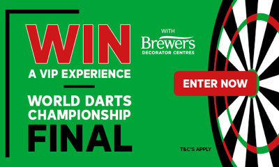 Win VIP Tickets to the World Darts Championship Final