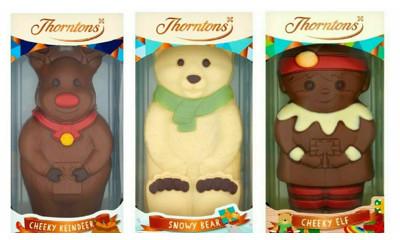 Free Thorntons Personalised Chocolate Christmas Elf
