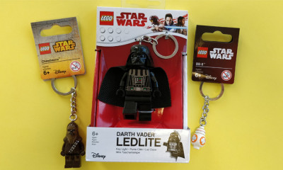 Free Star Wars LEGO Keyrings