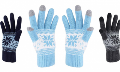 Free Touch Screen Winter Gloves