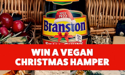 Win a Vegan Christmas Hamper with Branston