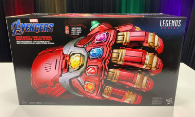 Win a Marvel Legends Series Avengers: Endgame Gauntlet
