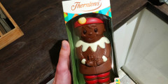 3 Free Thorntons Personalised Chocolate Christmas Elves