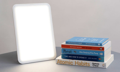 Win a Lumie SAD Light and a Mood-Boosting Book Bundle