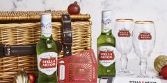 Christmas: Book Now for a Free Stella Artois Hamper