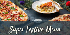 Christmas: 3 Courses & a Tipple for £25.95